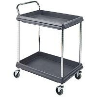 Deep Ledge Trolley PBC2030-2DBL 2-Tier Black 375053