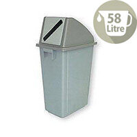 Waste Paper Gathering Recycling Bin B 58 Litre 124712