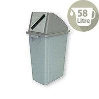 Waste Paper Gathering Recycling Bin B 58 Litre 124712