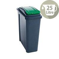Vfm Recycling Waste Bin 25L Green