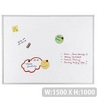 Franken ECO Enameled Magnetic Whiteboard 1500 x 1000mm White SC4209