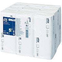 Tork Xpress Multi-Fold Soft Paper Hand Towels 1 Ply White 250 Towels Per Sleeve 12 Sleeves (3000 Sheets) 471074
