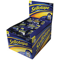 Sellotape Super Clear Tape 18mmx10m Pack of 50 1443330