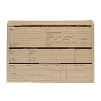Personnel Forms Personnel Wallets Yellow 235x330mm Pack 50 Sigma