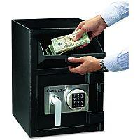 Master Lock Deposit Under Counter Safe 26.6 Litres Black (Pack of 1) DH-074E
