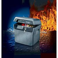 Master Lock Jumbo Waterproof Fire-Safe Chest  LFHW40102 18.6L 30min Fire Protection