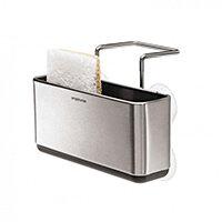 Simplehuman Slim Sink Caddy Brushed Steel KT1134