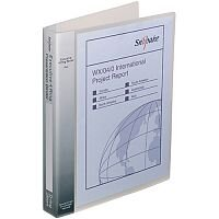 Snopake Executive Presentation 4D-Ring Binder A4 Clear 13386