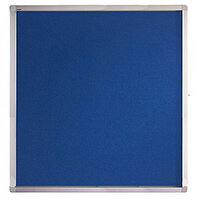 Franken Display Case ECO Outdoor Felt Blue 12 x A4 SK12PTE03
