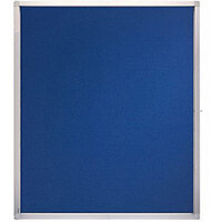 Franken Display Case ECO Outdoor Felt Blue 15 x A4 SK15PTE03