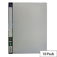 Snopake Clear Bio2 Ring Binders A4 25mm Pack of 10 15431