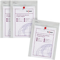 Snopake Polyfile P File Wallet Portrait A5 Clear 3 For 2 SK812406
