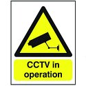 Stewart Superior Warning Sign CCTV In Operation Size A5 PVC GN00751R