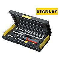Stanley 17 Piece Metric Socket Set 1/4 in Drive