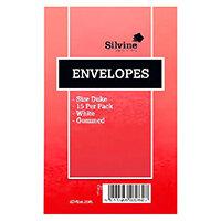 Silvine Duke Pre-Glued Envelopes Pack of 36 101-0174