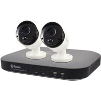 Swann 4 Channel 2 Camera DVR CCTV Kit SWDVK-447802-UK
