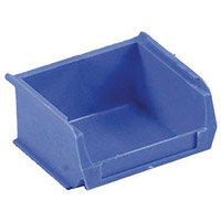 Container Blue Pack Of 60 90X100X50mm Louvre Value 2