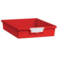Tray  A4 Shallow Red 77x312x425mm-Pack Of 26