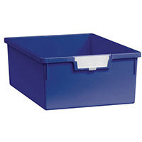 Tray  A4 Deep Blue 157x312x425mm-Pack Of 10