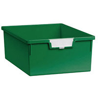 Tray  A4 Deep Green 157x312x425mm-Pack Of 10