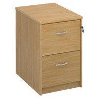 Filing Cabinet 2 Drawer Oak Classic Furniture