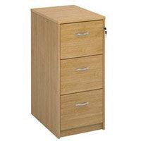 Filing Cabinet 3 Drawer Oak Classic Furniture