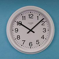 "Clock Radio Controlled 16"" Arabic Dial"