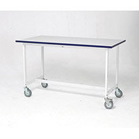 Mobile Bench C/W 2 Wheels Mobile Bench H750Xl1200mm