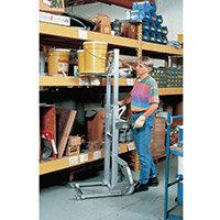Load Lifter Pneumatic Wheels C/W Foot Brake