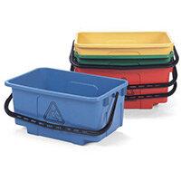 Mopping Bucket 30L Hi-Bak C/W Castors Blue