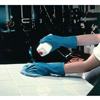 Azure Rubber Gloves Latex Gloves Size XL Blue Pack of 12