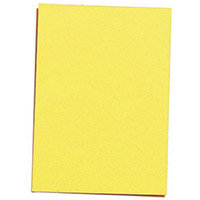 Card Refills A6 Pack Of 100 Yellow