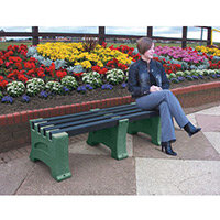 2 Person Backless Bench Emerald L1250mm