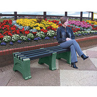 2 Person Backless Bench Emerald L2050mm