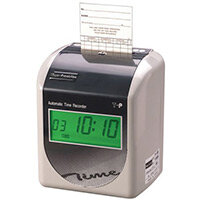 T-P 200 D Automatic Time Recorder with 250 Cards & 25 Slot Rack