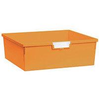 Plastic Storage Tray 469X425X157 Yellow Pack Of 6