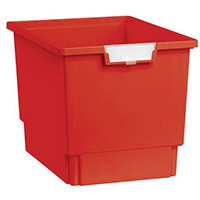 Plastic Storage Tray 312X425X300 Red Pack Of 7