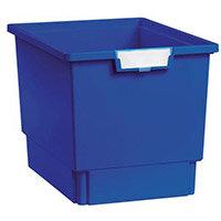 Plastic Storage Tray 312X425X300 Blue Pack Of 7
