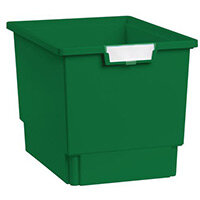 Plastic Storage Tray 312X425X300 Green Pack Of 7
