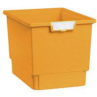 Plastic Storage Tray 312X425X300 Yellow Pack Of 7