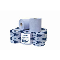 Advanced Wiper 415 Blue Centrefeed Roll