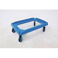 Plastic Dolly Colour Blue