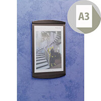 Poster Frame A3 Wall Mounted Black