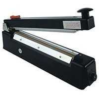 Pac-Seal Impulse Heat Sealer 200mm With Cutter