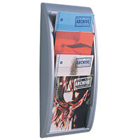 Fast Paper Quick Fit Silver Display A4