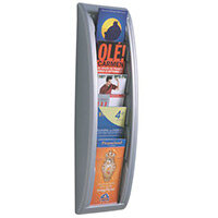 Fast Paper Q-Fit Silver Display Size DL 1/3 A4