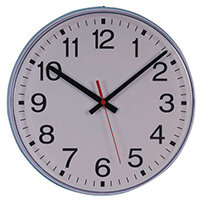 30Cm Radio Controlled Clock With Silent Movement