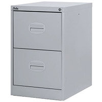 Filing Cabinet Kontrax Light Grey Steel HxWxD: 711x458x622mm