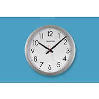 40Cm Clock With Silver Finish Bezel