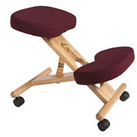 Kneeling Chair Burgundy